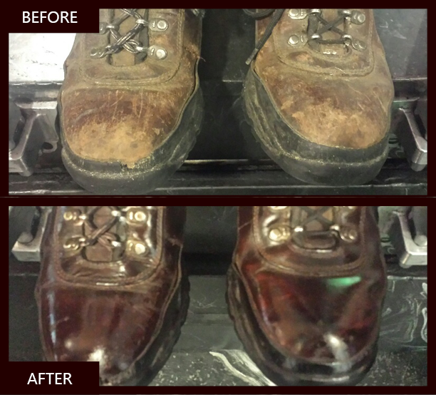 Executive Shine BeforeAfter